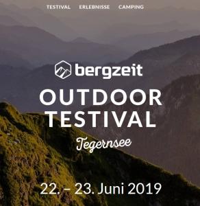 Bergzeit Outdoor Testival Tegernsee 22.-23.06.2019