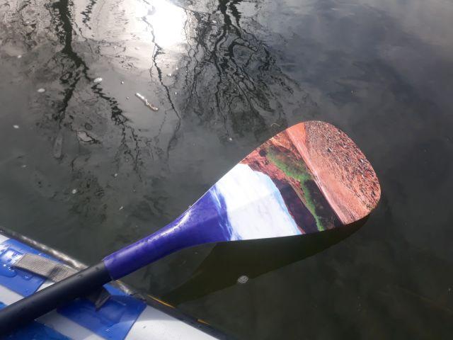 Hala Gear Paddel für Wildwasser